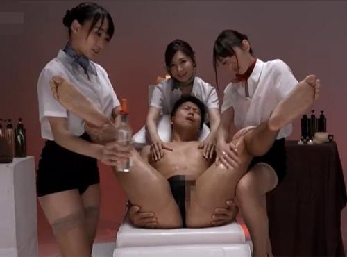 清楚な色白エステ嬢たちが性を食い尽くす女性が見たい/a 複数4Pご奉仕SEX動画